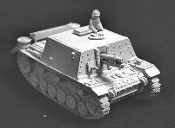 Sig33B* 15cm SP Gun On Mk.III Chassis with TC Figure