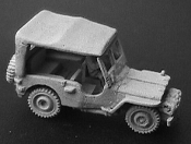 M38 Jeep with Dvr and Canvas Top