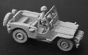 M38 Jeep with .50 Cal MG On Pedestal Mount and Dvr.