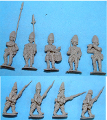 British Grenadiers Advancing
