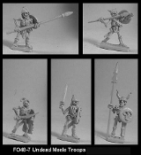 Undead Melee Troops