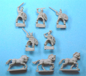 Cavalry In Mail