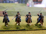 Union Cavalry with Sabers