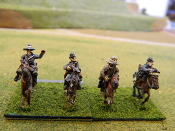 Confederate Cavalry With Pistols and Shotguns