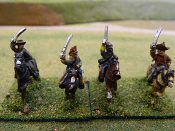 Confederate Cavalry With Sabers