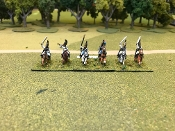 Russian Cuirassier Charging