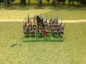 Hanovarian SYW Infantry with Cmd and Grenadiers