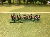 Portugese Light Infantry Skirmishing With Command