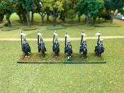 Uhlan Cavalry Without Command
