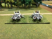 2 Orc War Chariots With Crew