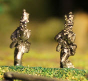 Mexican Line Infantry In Shako Advancing