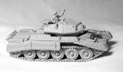 Crusader I Tank With MG Turret & Skirts