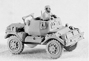 Daimler Dingo Scout and Command Car with TC Figure