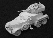 Ba 6 Armored Car with TC Figure