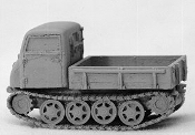 Rso Tracked Truck / Prime Mover with Canvas Top
