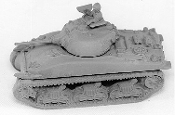 M4A1 Cast Hull Sherman Tank 75mm