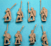 11Th - 13Th Century Hv. Infantry