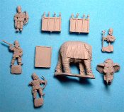 Sassanid Elephants