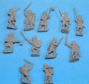 First Crusade Dismounted Knights With Melee Weapons