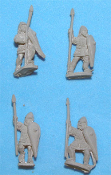 First Crusade German Armored Spearmen