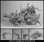 2 Orc Command War Chariots With Crew