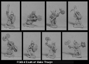 Dwarven Melee Troops