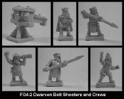 Dwarven Bolt Shooters