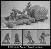 Dwarven Catapult and Crew