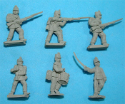 1859/66 Austrian Full Dress Line Infantry Skirmishing