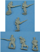French Zouaves In Kepi Advancing