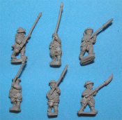 Korean Infantry With Spears And Polearms