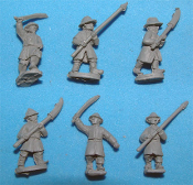 Ming Conscript Infantry Without Shields