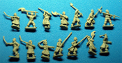 Cossack Infantry With Mixed Weapons