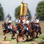 French SYW Light Cavalry (Grenadier Hat)