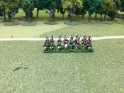 Russian Pavlov Grenadiers With Command