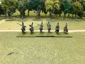 Russian Dragoons Charging