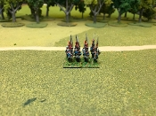 French Elite Company Full Dress March Attack (1809)