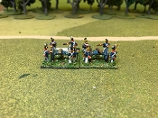 British Foot Artillery 1815 A