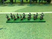 Prussian SYW Jagers Skirmishing and Horse Artillery