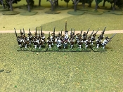 French SYW Musketeers & Grenadiers Front Turnbacks