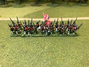 French SYW Musketeers & Grenadiers Front & Back Turnbacks