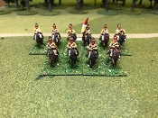 French SYW Schomberg Dragoons