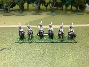 French Guard Lancers with Swords