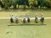 Prussian Hussars Charging