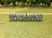 Bavarian Line Infantry Marching