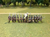 Swedish Guards / Lieb Grenadiers With Command