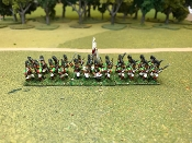 Spanish Light Infantry With Command