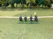 British Pennisula Light Cavalry At Rest