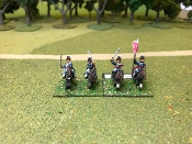 British Pennisula Light Cavalry Charging