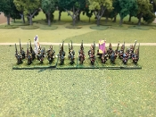 Hessian Fusiliers & Grenadiers With Command